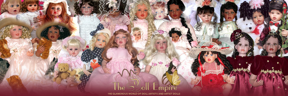 Fayzah Spanos Dolls - The Doll Empire Fayzah Spanos Fan Site - Greek-American Doll Artist Fayzah Spanos